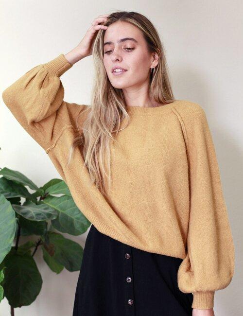 Camila Honey Sweater