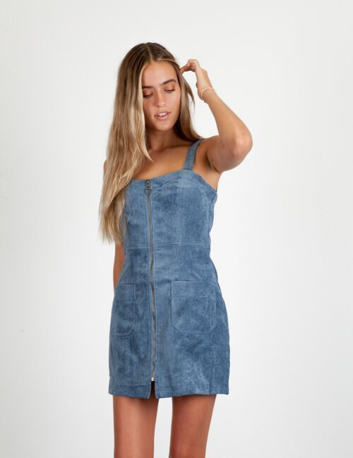One For The Road Denim Dress