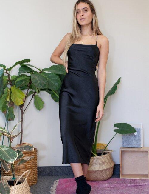 Tiffany Black Silk Dress