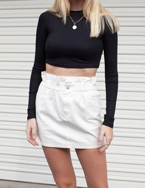 Georgia White Skirt