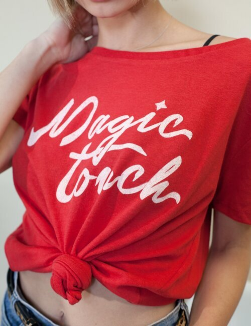 Magic Touch Red Tee