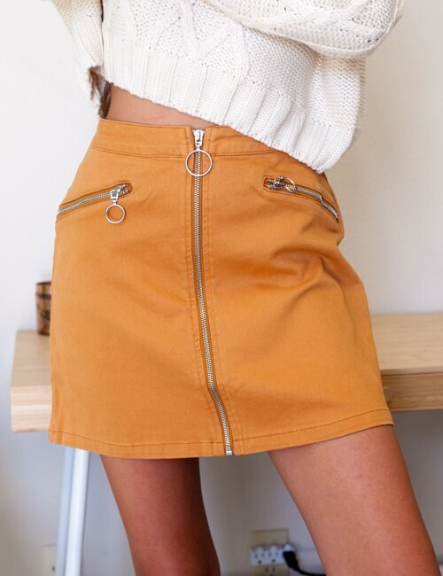 Lucky Strike Amber Skirt