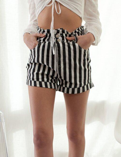 Amelia Striped Shorts