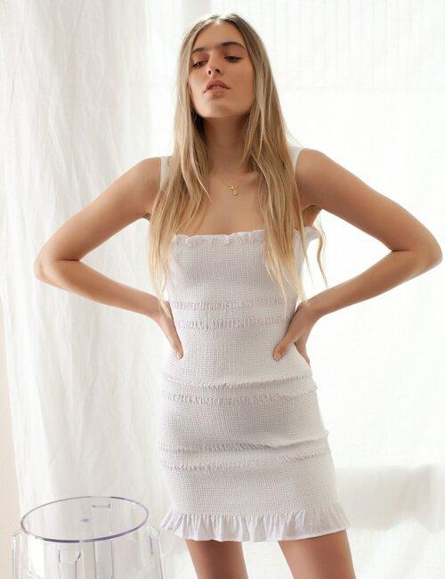 Demi White Dress