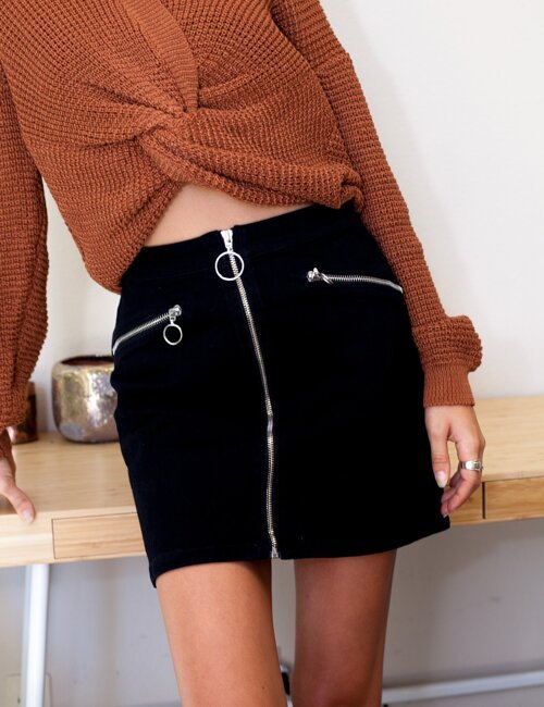 Lucky Strike Black Skirt