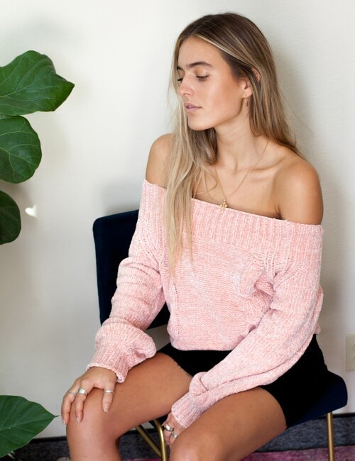 Graham Pink Sweater