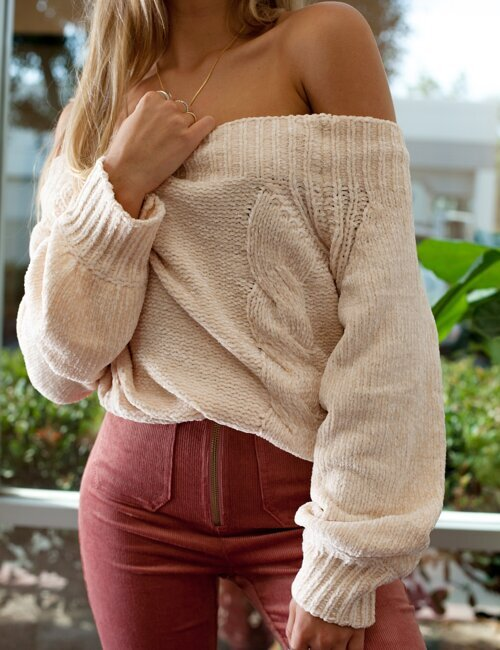 Graham Ivory Sweater