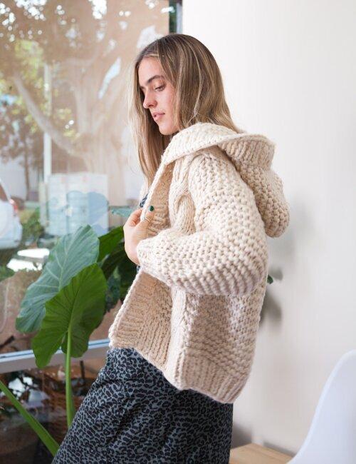Toronto Cream Knit Sweater
