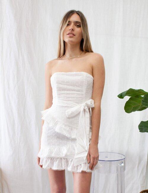 Countryside White Eyelet Dress