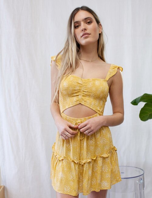 Here Comes The Sun Yellow Dress