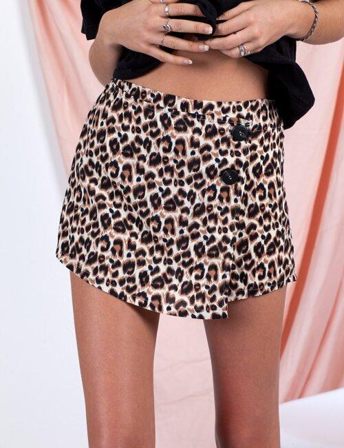 Tammy Brown Cheetah Skort