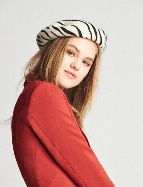 Audrey Zebra Beret