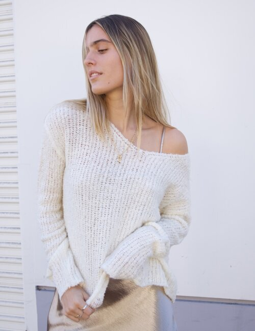 Wilson Ivory Knit Sweater