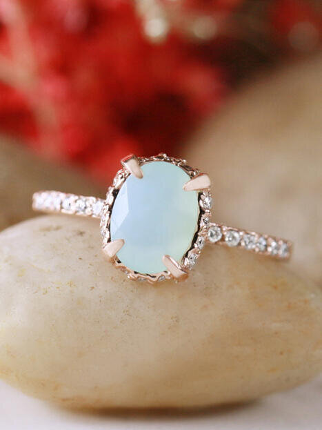 il rings engagement vintage ring wedding au listing set opal