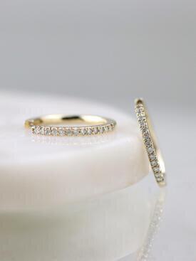 15MM Diamond Hoop Earrings