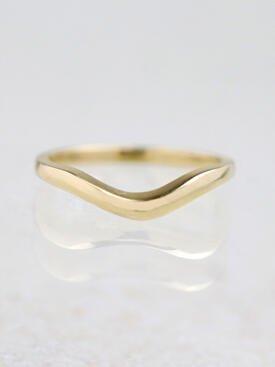 Simple Gold Wavy 14 Karat Gold Band