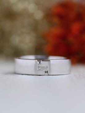 6MM Baguette Diamond Solid 14 Karat Gold Wedding Band