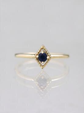 Kite Blue Sapphire Ring