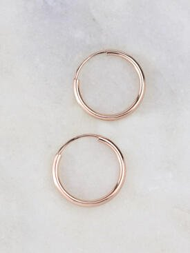13MM Infinity Hoop Earrings