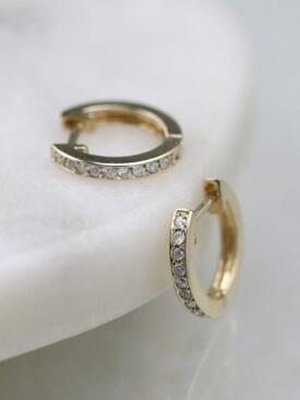 12.5MM Diamond Solid 14 Karat Gold Hoops Earrings