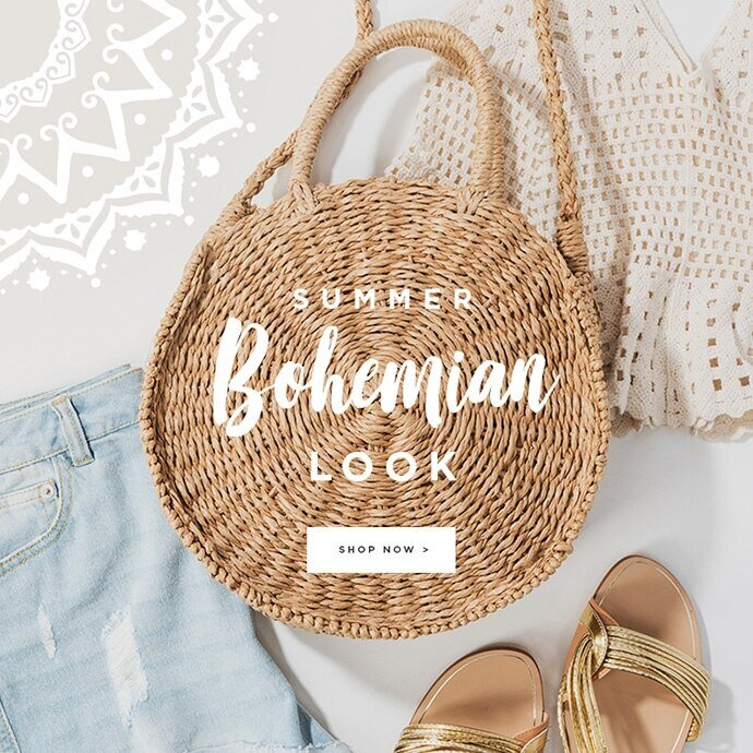 New Arrivals: Summer Bohemian Look