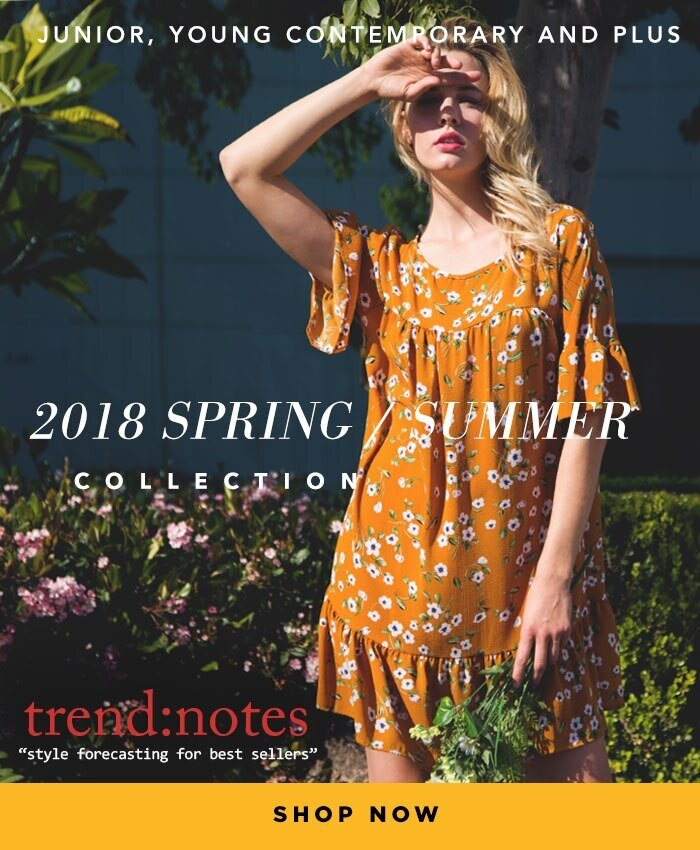 trend notes 2018 spring summer collection