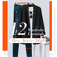 12 Wardrobe Essentials For Your Style